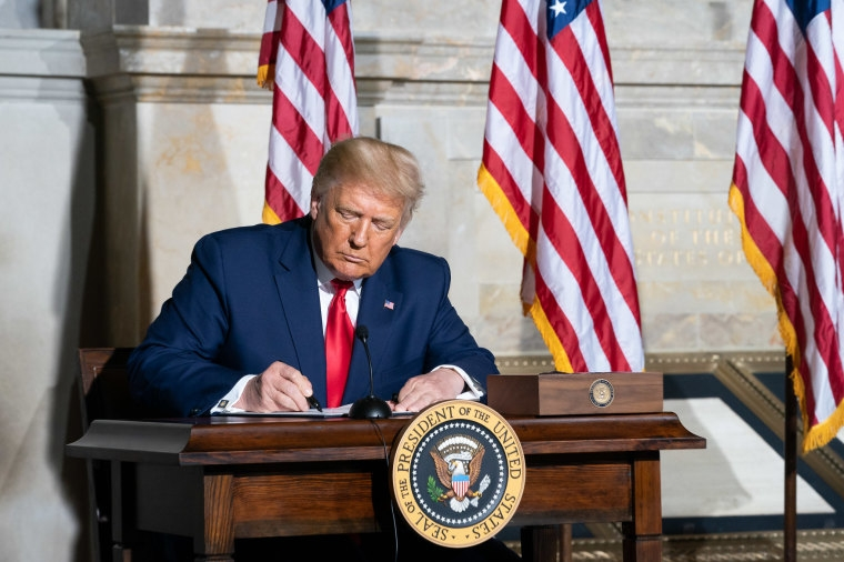 Trump Signs Executive Order Helping Protect Abortion Survivors