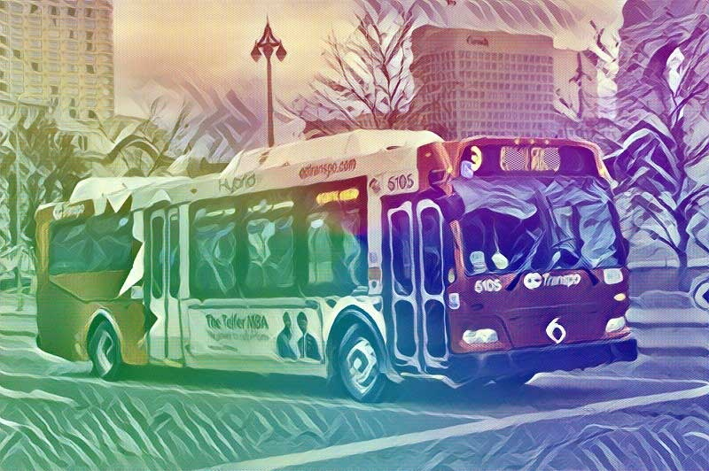 Bryonna's Story, Part 6 - The Bus Outside the Window